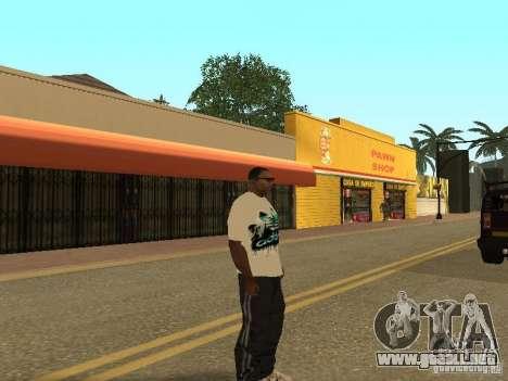 Jersey Adidas para GTA San Andreas sucesivamente de pantalla