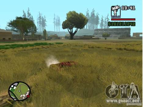 Real Grass v1.0 para GTA San Andreas