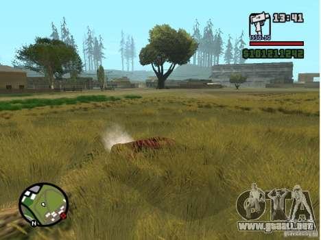 Real Grass v1.0 para GTA San Andreas tercera pantalla