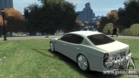 Maserati Quattroporte para GTA 4 left