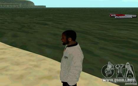 Jamaicana piel HD para GTA San Andreas segunda pantalla