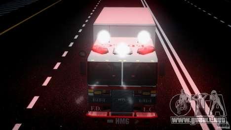 LCFD Hazmat Truck v1.3 para GTA 4 vista desde abajo