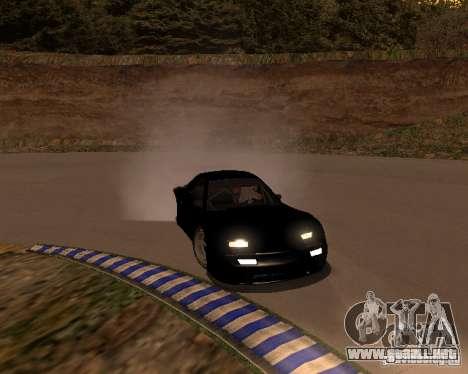 Mazda RX-7 FC - MadMike: Version.2 para GTA San Andreas vista hacia atrás
