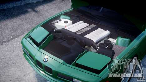 BMW 850i E31 1989-1994 para GTA 4 vista interior