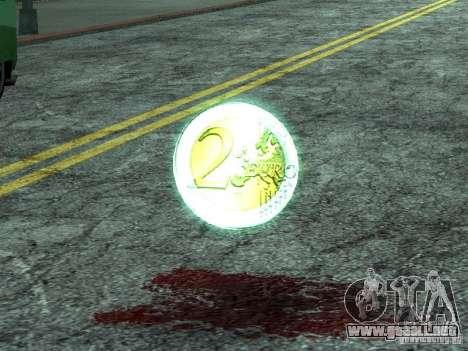 Monedas de euro para GTA San Andreas