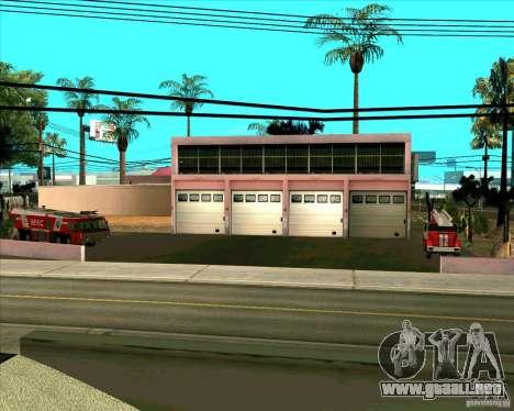 Los vehículos estacionados v2.0 para GTA San Andreas octavo de pantalla