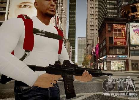 El HK416 (automático) para GTA 4 segundos de pantalla