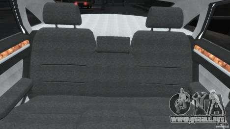Audi S8 D3 2009 para GTA 4 interior