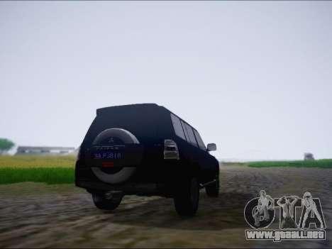Mitsubishi Pajero 2012 para la visión correcta GTA San Andreas