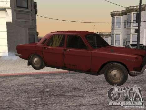 Volga Gaz M24-Rusty muerte para GTA San Andreas left