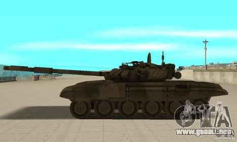 Tanques t-90 para GTA San Andreas left