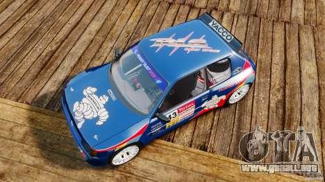 Peugeot 205 Maxi para GTA 4 visión correcta