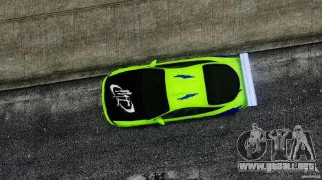 Mitsubishi Eclipse GSX FnF para GTA 4 visión correcta