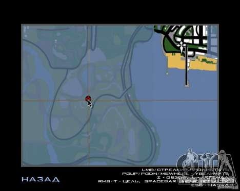 Casa Hunter v 1.0 para GTA San Andreas séptima pantalla