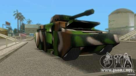 Bundeswehr-Panzer para GTA San Andreas left