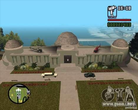 La casa de la colina para GTA San Andreas