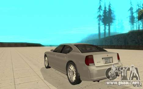 FIB Buffalo en GTA 4 para GTA San Andreas vista posterior izquierda