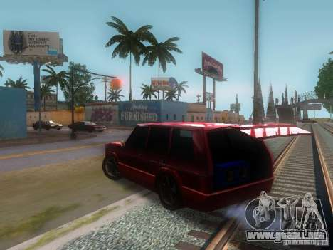 New Huntley para la visión correcta GTA San Andreas