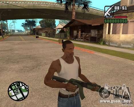 AK-47 from GTA 5 v.1 para GTA San Andreas