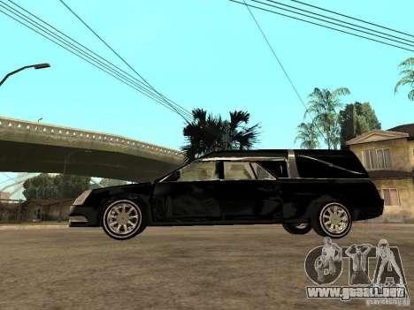 Cadillac DTS 2008 para GTA San Andreas left