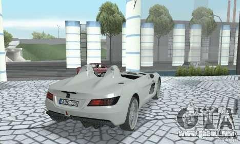 Mercedes-Benz SLR Moss 2008 para GTA San Andreas left