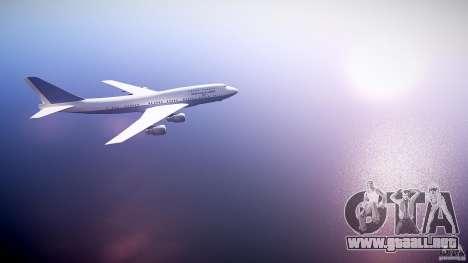 Air Force One v1.0 para GTA 4 vista hacia atrás