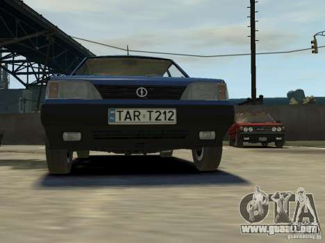 FSO Polonez Caro para GTA 4 vista superior