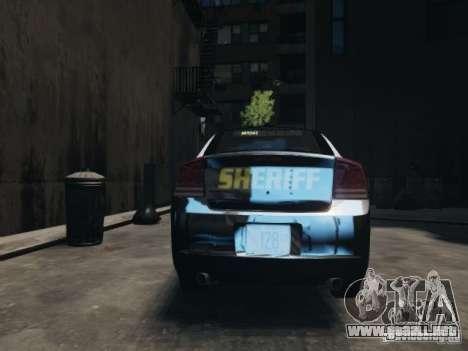 Dodge Charger Slicktop 2010 para GTA 4 visión correcta