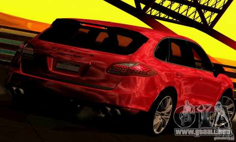 Porsche Cayenne Turbo 958 2011 para GTA San Andreas left