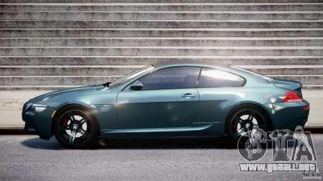 BMW M6 2010 v1.5 para GTA 4 vista interior