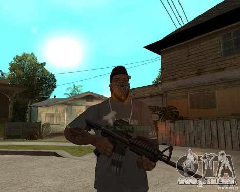 M16 de muy alta calidad para GTA San Andreas