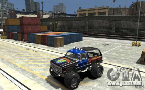 Chevrolet Blazer K5 1986 Monster Edition para GTA 4