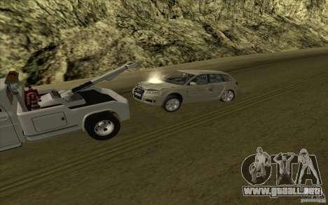 Camión de remolque Chevrolet para vista lateral GTA San Andreas