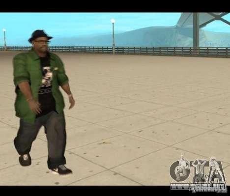 Family Skins Pack para GTA San Andreas quinta pantalla