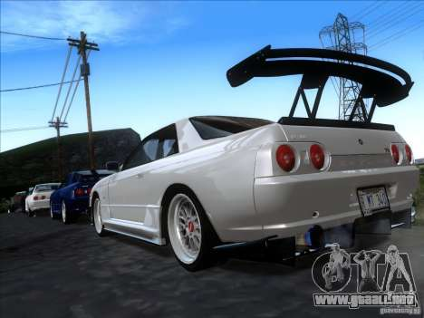 Nissan Skyline GT-R R32 1993 Tunable para GTA San Andreas left