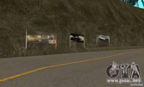 Welcome to AKINA Beta3 para GTA San Andreas tercera pantalla
