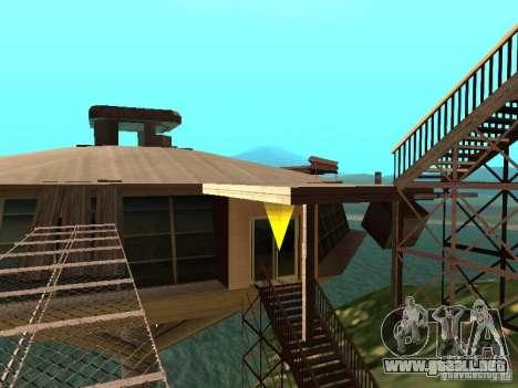 Isla (mes en el agua) para GTA San Andreas segunda pantalla