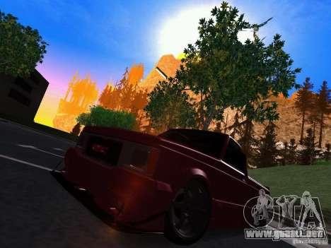 GMC Syclone Drift para GTA San Andreas left