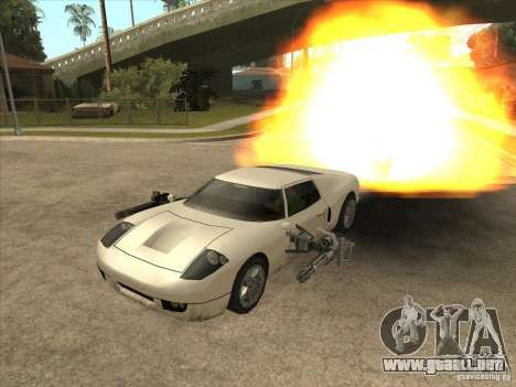 El guión de CLEO: Super coche para GTA San Andreas tercera pantalla