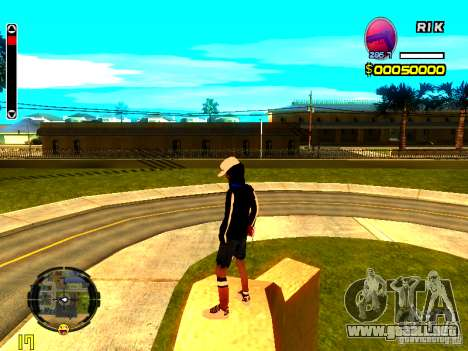 Piel vago v8 para GTA San Andreas tercera pantalla