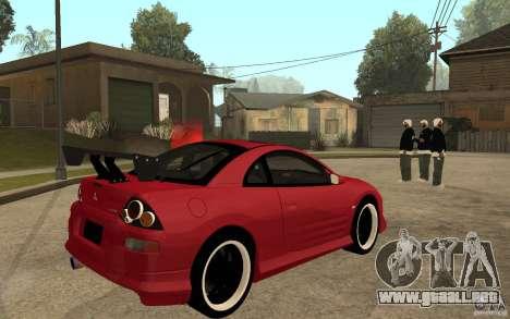 Mitsubishi Eclipse 2003 V1.0 para la visión correcta GTA San Andreas