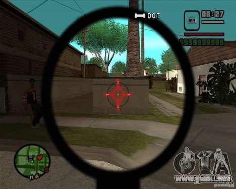 Campanas y silbatos para armas para GTA San Andreas sexta pantalla