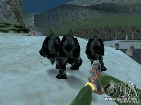 Monstruos submarinos para GTA San Andreas quinta pantalla