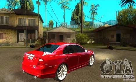 Ford Fusion Hybrid para la visión correcta GTA San Andreas