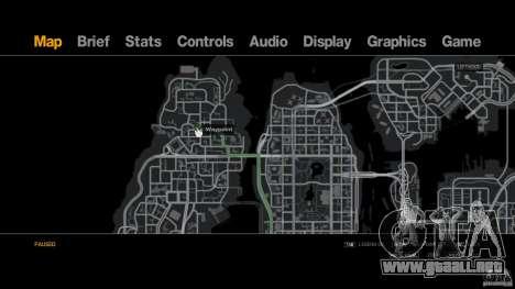 Pizza Hut para GTA 4 adelante de pantalla