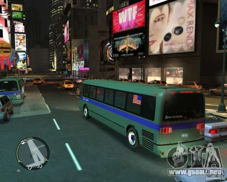 MTA NYC bus para GTA 4 left