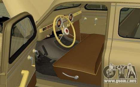 GAZ M20 Pobeda 1949 para la visión correcta GTA San Andreas