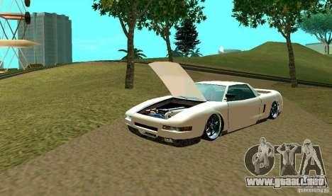 New Infernus para la vista superior GTA San Andreas