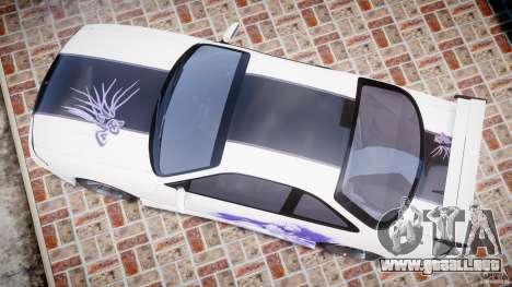 Nissan Silvia S14 [EPM] para GTA 4 visión correcta