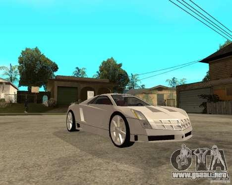 Cadillac Cien para la visión correcta GTA San Andreas